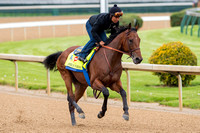 Zayat Stables' American Pharoah posted a bullet workout at Churchill Downs Sunday – the fastest of the day at the distance – covering five furlongs in :58.40 under jockey Martin Garcia.