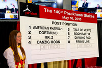 The field is set for the 140th Preakness Stakes at Pimlico Race Course in Baltimore, Maryland.