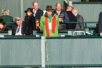 Fashion & Hats on Breeders' Cup Friday at Keeneland Race Course.