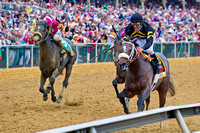 Oxbow, Gary Stevens up, wins the GI Preakness Stakes