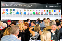 The field is set for the 2016 Kentucky Derby at the Kentucky Derby Draw at Churchill Downs in Louisville, Kentucky.
