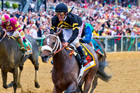 Gary Stevens is ecstatic after winning the 138th GI Preakness St