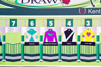 California Chrome draws post position 5 in the 140th Kentucky Derby.