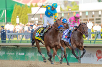 American Pharoah, Victor Espinoza up, wins the Kentucky Derby (GI) at Churchill Downs in Louisville, Kentucky.